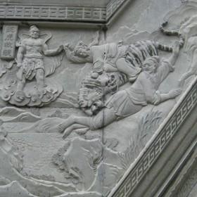 大型石材浮雕 场景浮雕