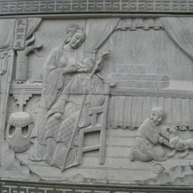 石材浮雕加工 浮雕幕墙