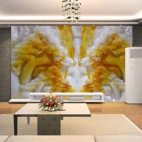 家装石材电视背景墙