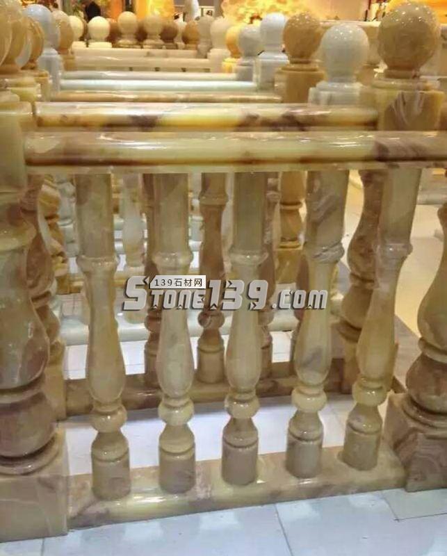 玉石栏杆成品批发-- 甘肃兰州石材