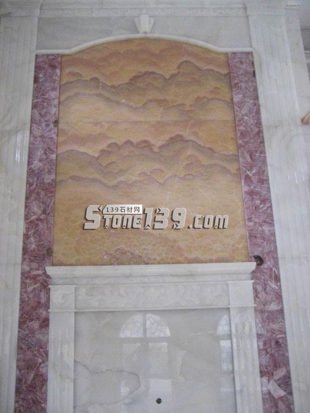 漳州龙文区石材背景墙