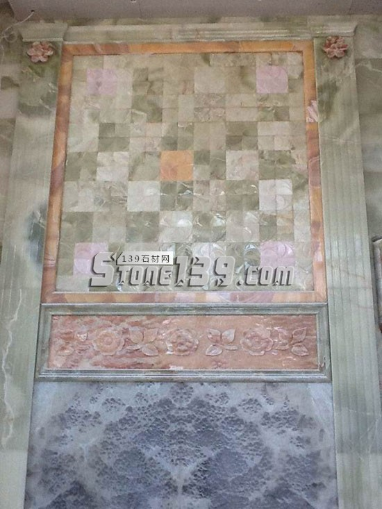 漳州华安县石材背景墙
