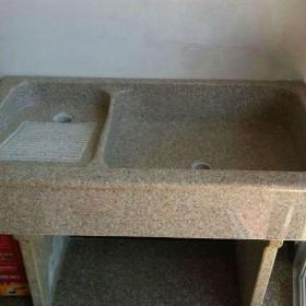 水头石材洗衣池配搓衣板