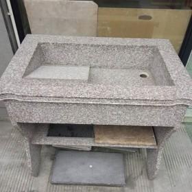 福建花岗岩洗衣池 石材家具