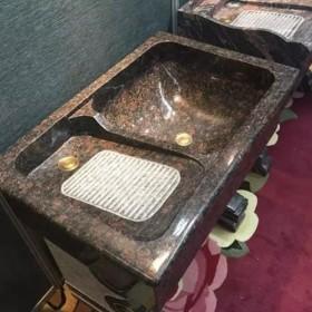 家装石材 花岗岩洗衣池成品