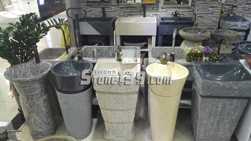花岗岩洗手池 洗衣池成品-- 水头石材洗衣池
