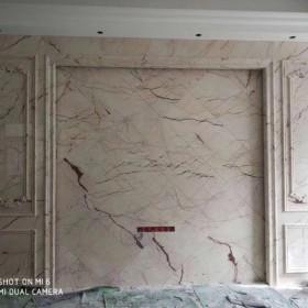 大理石罗马柱背景墙全屋定制