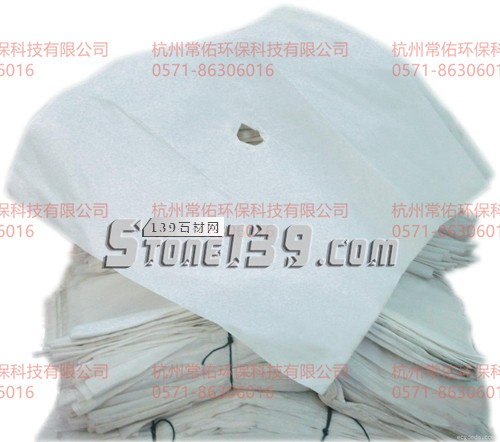 石材废水污泥过滤-涤伦621滤布-压滤机滤布袋-- 杭州常佑环保科技有限公司