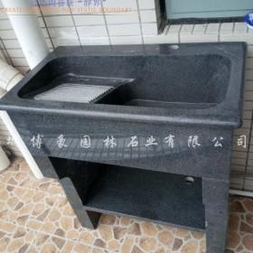 博豪石业品牌花岗岩一体化洗衣池