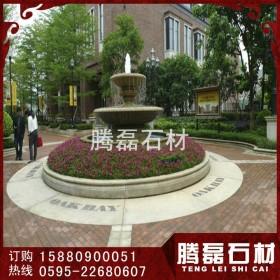 园林石雕喷泉 装饰石雕水砵 石雕喷泉加工