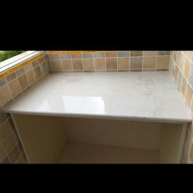 石狮石材 白色人造石台面板