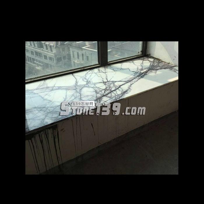 香雪梅大理石飘窗 石狮石材窗台板供应-- 石狮石材背景墙