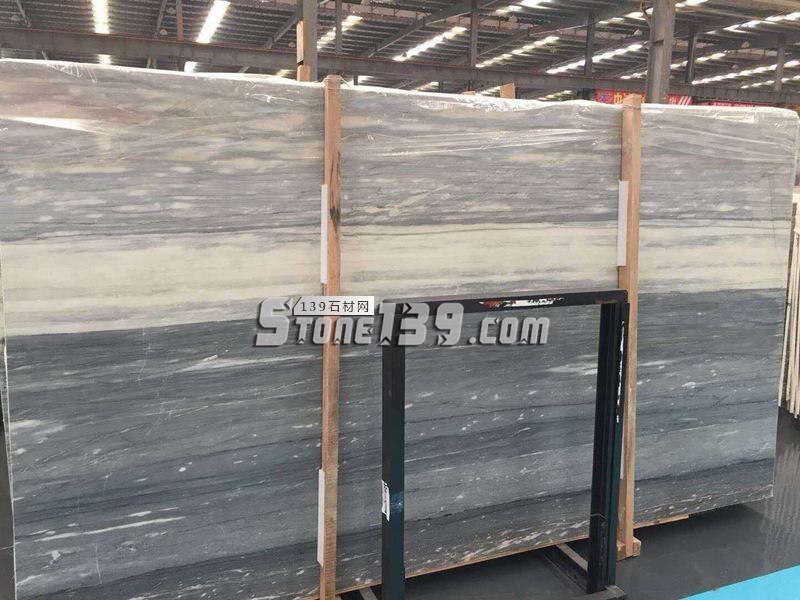 国产蓝金沙大理石大板现货供应-- 福建水头鑫熙大理石