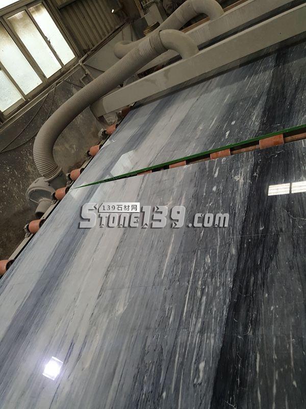 国产蓝金沙光板 石材装饰材料-- 福建水头鑫熙大理石
