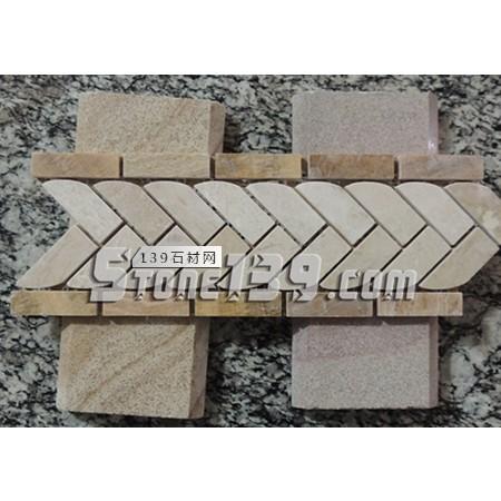 石材马赛克工艺线条FR-7-- 富瑞石材