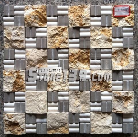 自然面石材马赛克FR-1-- 富瑞石材