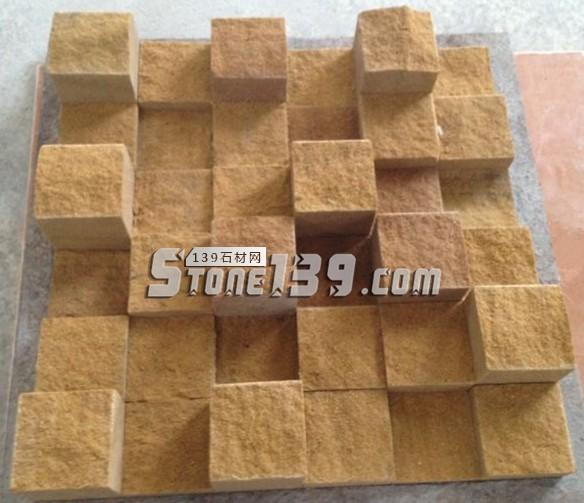 自然面石材马赛克FR-9-- 富瑞石材