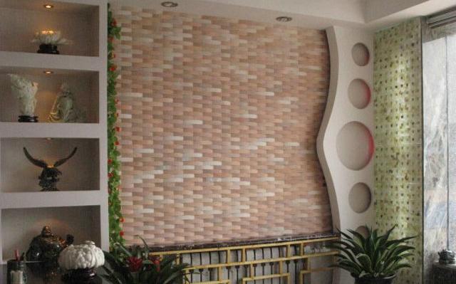 石材马赛克家装墙面案例-- 富瑞石材