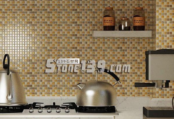 家装墙面石材 厨房马赛克应用-- 富瑞石材