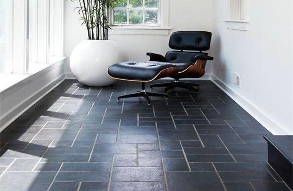 室内地面石材马赛克应用案例-- 富瑞石材