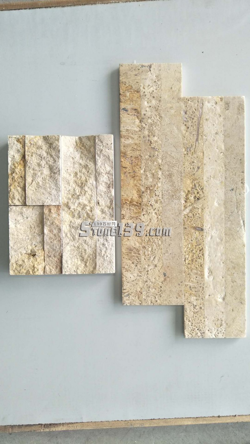 大量供应米黄洞石文化石-- 郑州斯顿石材有限公司