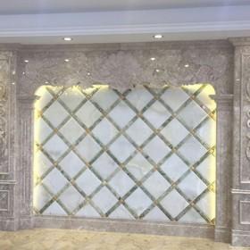 福建内装大理石罗马柱背景墙