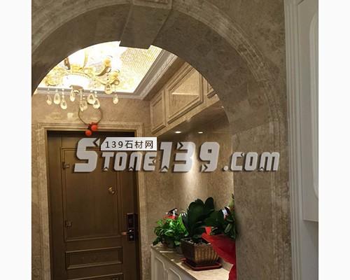 大理石内装罗马柱垭口 石材家装-- 赛迪石材罗马柱
