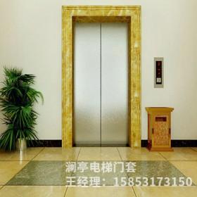 仿石材电梯垭口|电梯门套