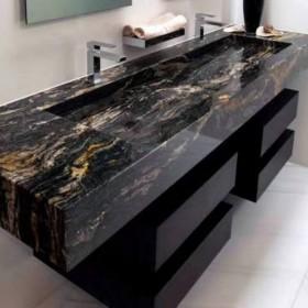 宇宙金大理石洗手台