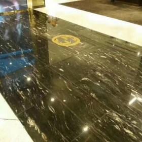 宇宙金大理石地板装饰效果