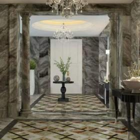 威尼斯棕大理石整体装饰效果
