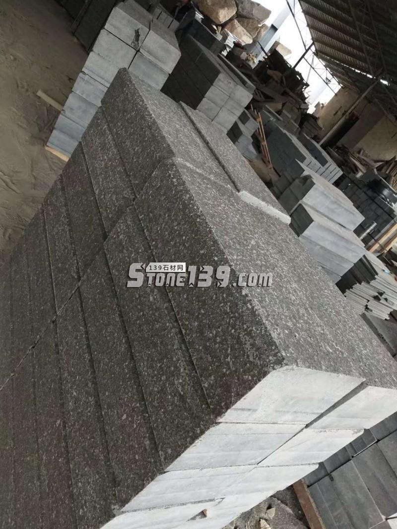 博白黑仿古面路沿石产品-- 博白县东平镇康锋石材厂