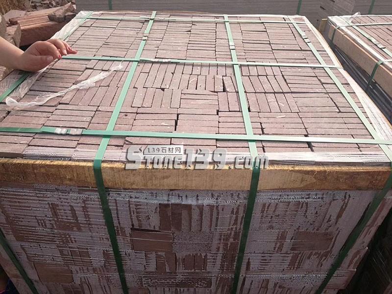 山东紫砂岩地砖成品订单-- 山东捷顺石业有限公司
