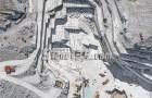 鸟瞰壮美的意大利卡拉拉大理石矿山