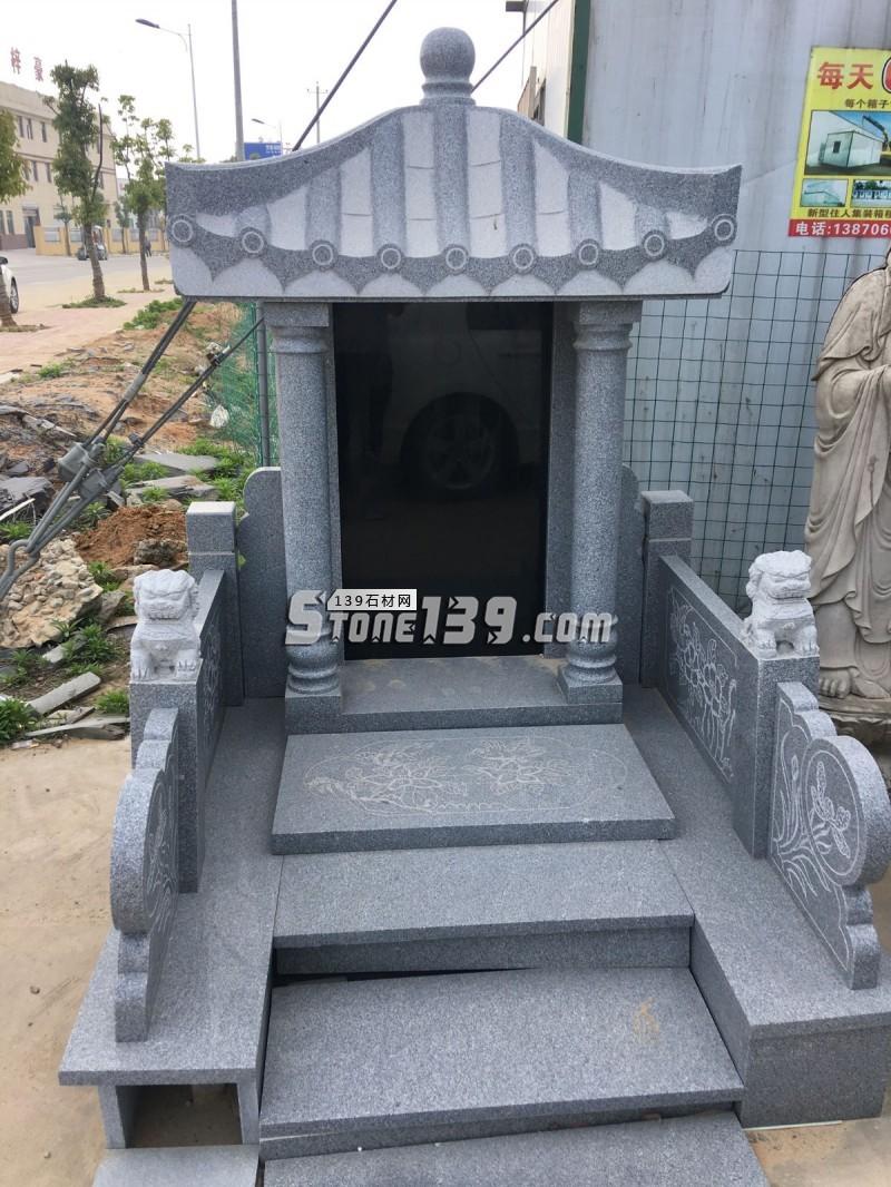 芝麻灰G1901#公墓墓碑-- 庐山市仙城石业