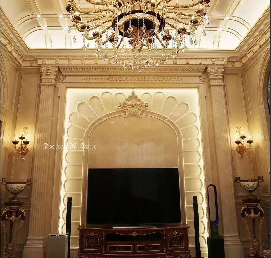 139石材网讯 客厅在户型上是家中最大面积,也是处在核心位置,所以我们对待客厅的装修都很上心,其中背景墙就是一个比较多见的墙面装饰,在客厅里可以用于沙发背景墙或者电视背景墙,背景墙的材质有很多,有实木板、石材、壁纸等等,装修出的效果都非常不错,今天小编就给家中复式楼没装修业主介绍一下石材背景墙,分享下挑高石材背景墙装修的50款案例。 豪宅不一定有跃层,但是有跃层的基本上都是豪宅。随着天然石材的流行,高大上的大理石背景墙变成了家装的首选。今天就分享50套最新跃层大理石背景墙,给大家参考哈。