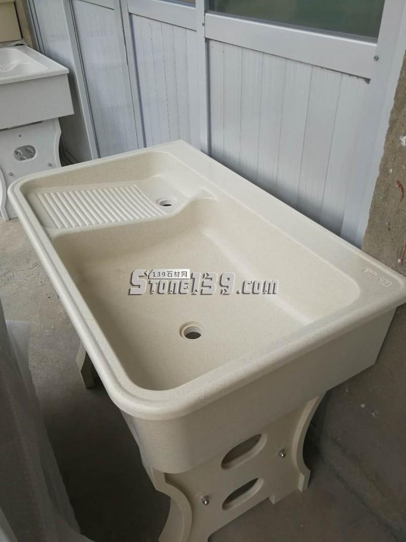 石英石洗衣池整套(单盆)-- 福建信德石业