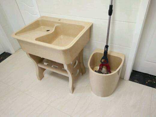 阳台洗衣池 石英石拖把池配套-- 福建信德石业