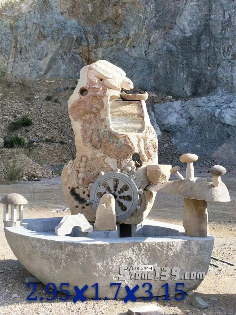 景观石 风水石 石趣雕刻-- 腾翔石趣石材加工厂