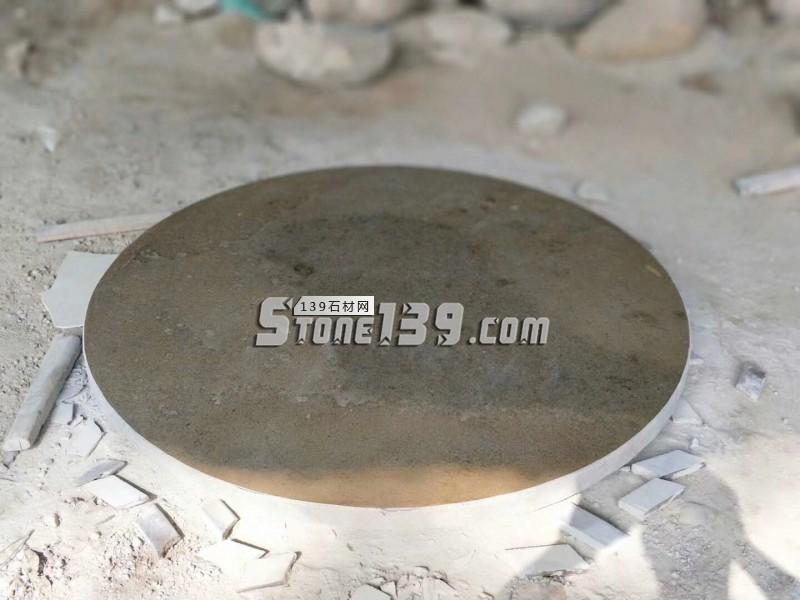 石材园桌面 圆凳子 圆形石趣-- 腾翔石趣石材加工厂