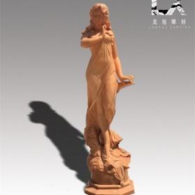 供应定制纯手工雕刻优质西式人物雕像