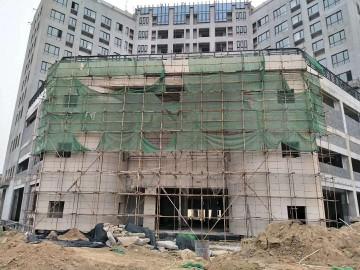 湖北黄金麻工程案例之舟山石材工地 (4)