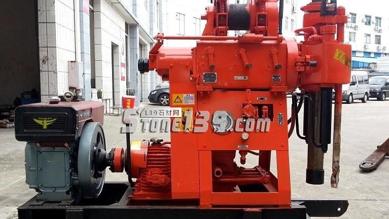 出售二手GYQ-200A型立轴式液压钻机,矿山探矿钻机-- 黄国师