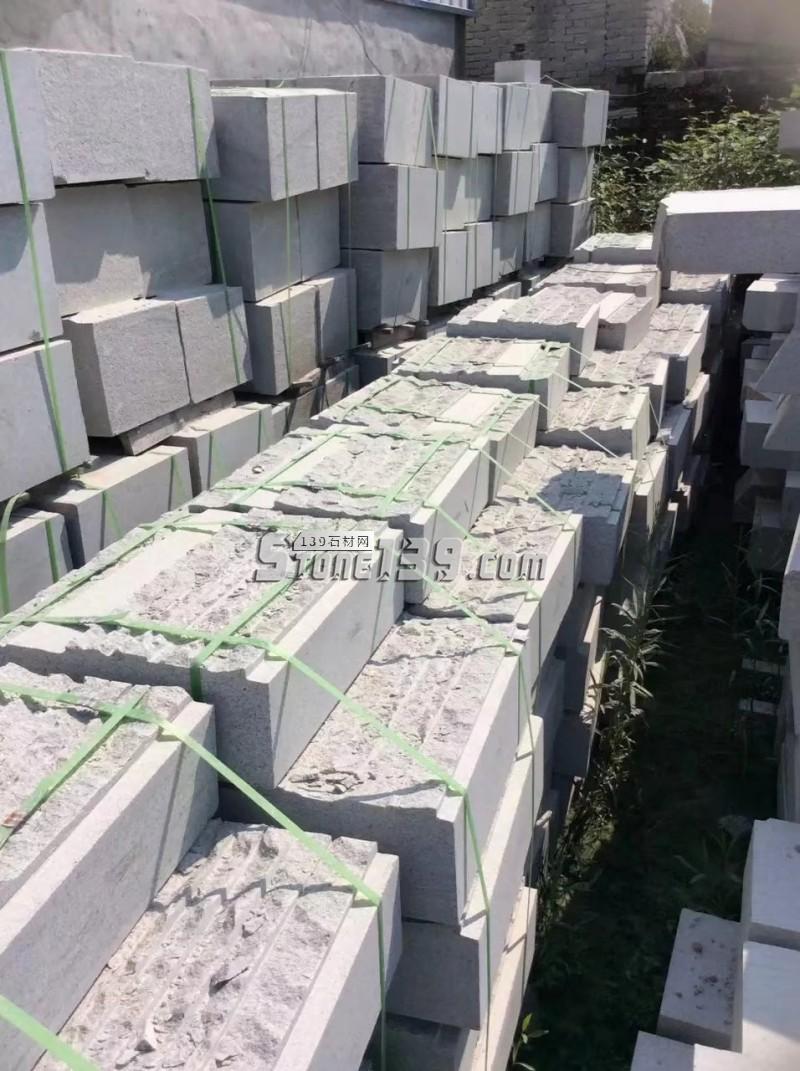 河南芝麻白石材成品  承接园林市政工程订单-- 河南省泌阳县宏磊石材