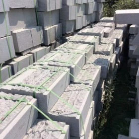 河南芝麻白石材成品  承接园林市政工程订单