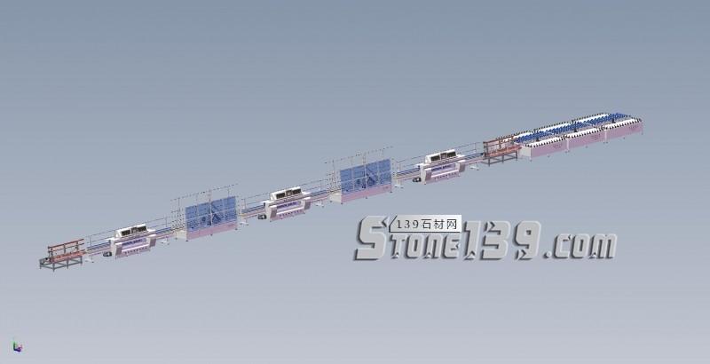 石材生产线,台面板生产线,厨房台面生产线;窗台面生产线-- 威航智能设备厂
