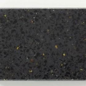 银河系黑色闪光石英石台面