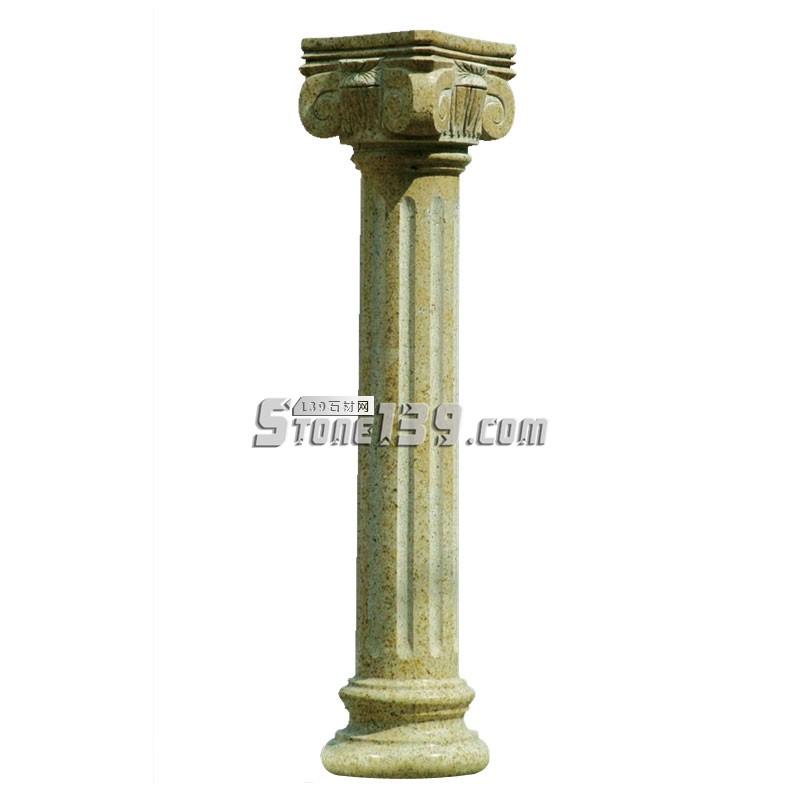 水头花岗岩罗马柱供应-- 广茂石业