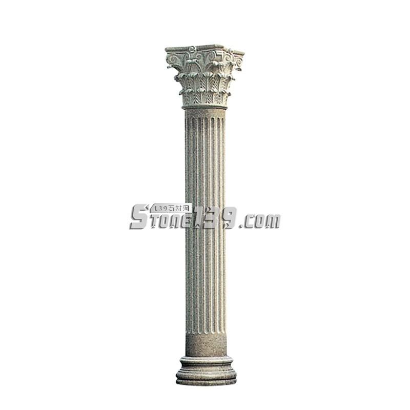 水头花岗岩罗马柱-- 广茂石业