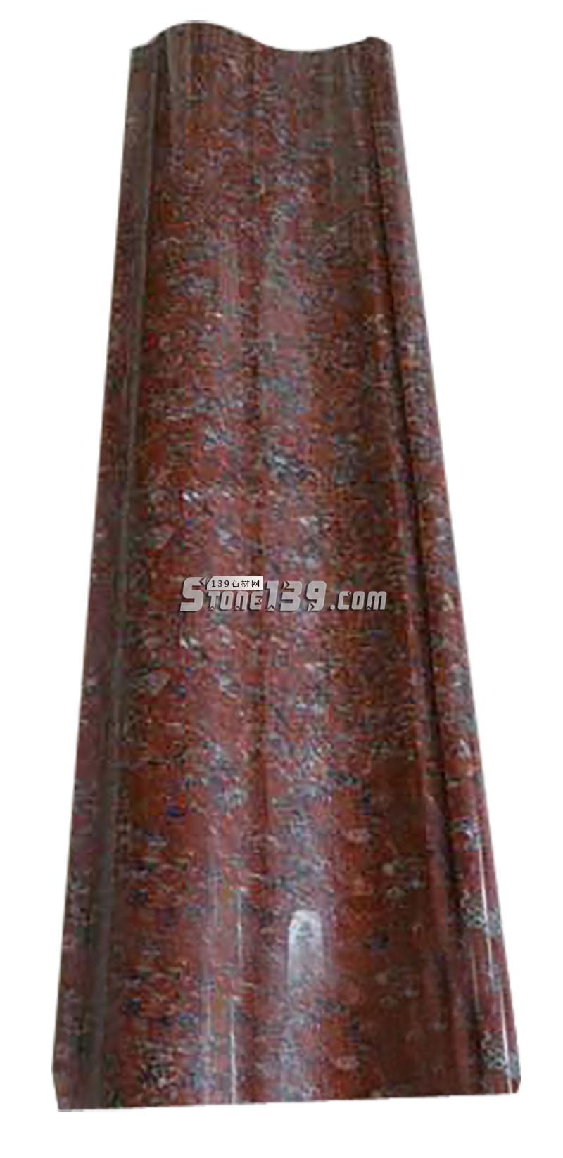 红色石材线条-- 广茂石业